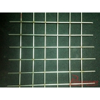 Straight wire mesh, stainless steel